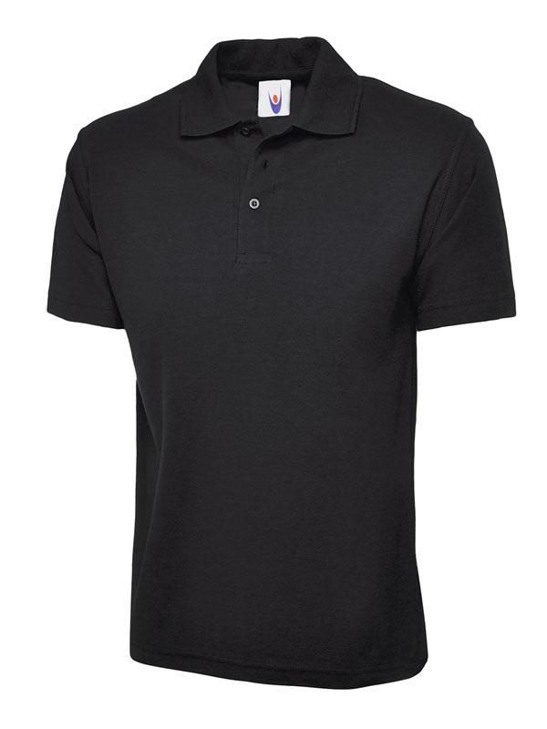 childrens polo shirt UC103 black