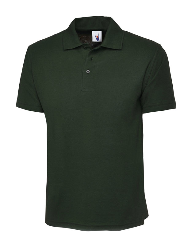 childrens polo shirt UC103 bottle green