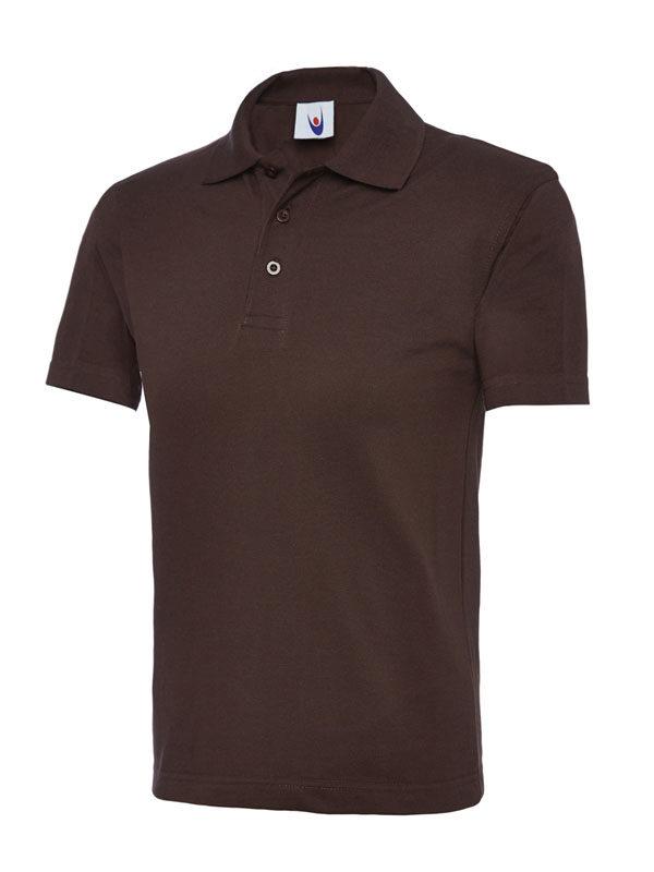 childrens polo shirt UC103 brown