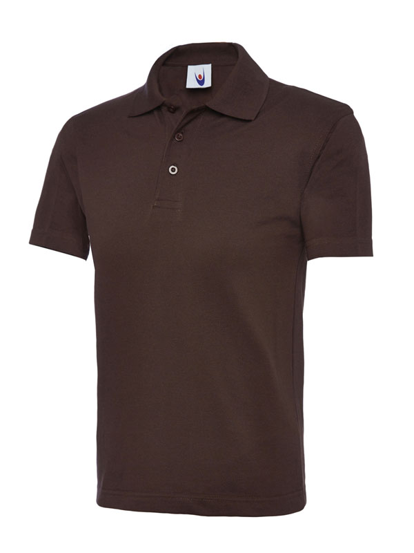 childrens polo shirt UC103 brown