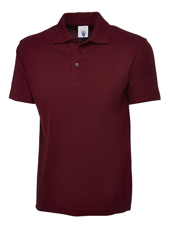childrens polo shirt UC103 maroon