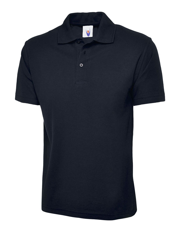 childrens polo shirt UC103 navy