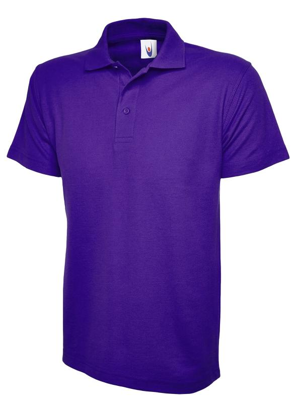 childrens polo shirt UC103 purple