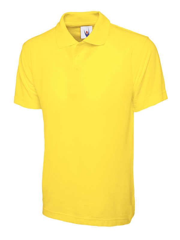 childrens polo shirt UC103 yellow
