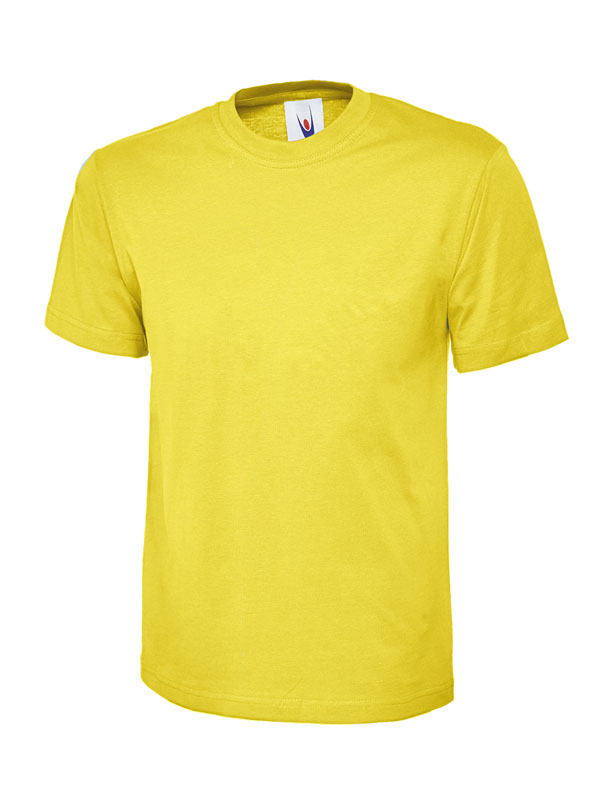 childrens t shirt 180gsm UC306 yellow