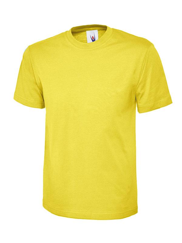 childrens t shirt 180gsm UC306 yellow