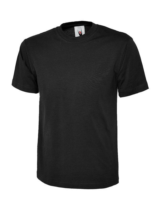 classic t shirt 180GSM UC301 black