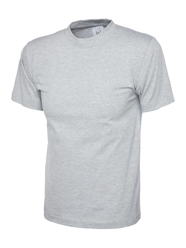 classic t shirt 180GSM UC301 heather grey