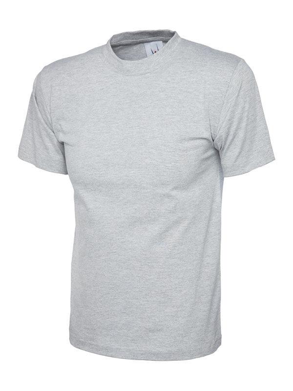 classic t shirt 180GSM UC301 heather grey