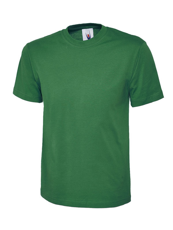 classic t shirt 180GSM UC301 kelly green