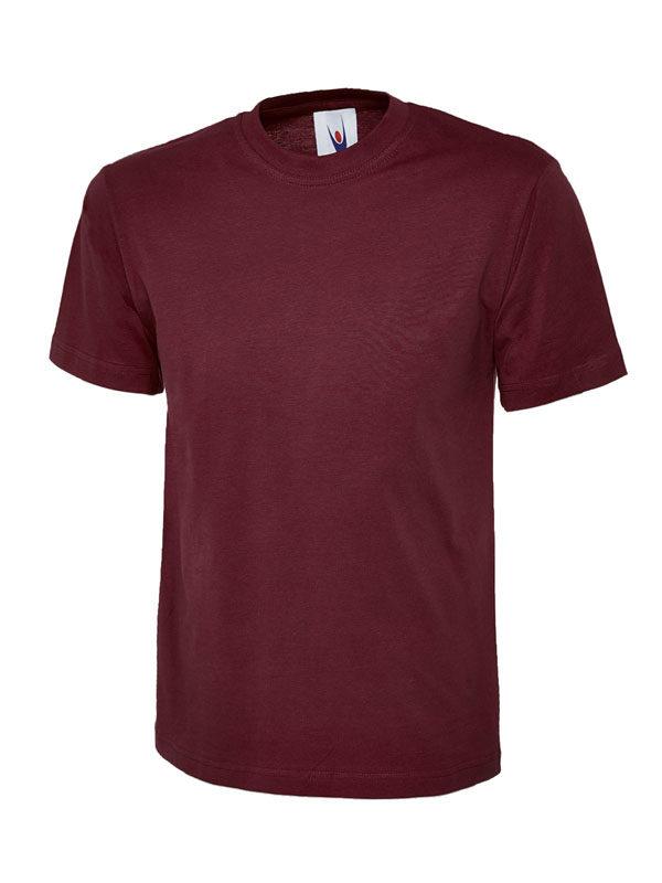 classic t shirt 180GSM UC301 maroon