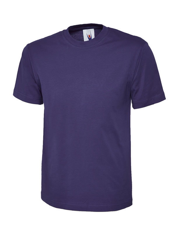 classic t shirt 180GSM UC301 purple