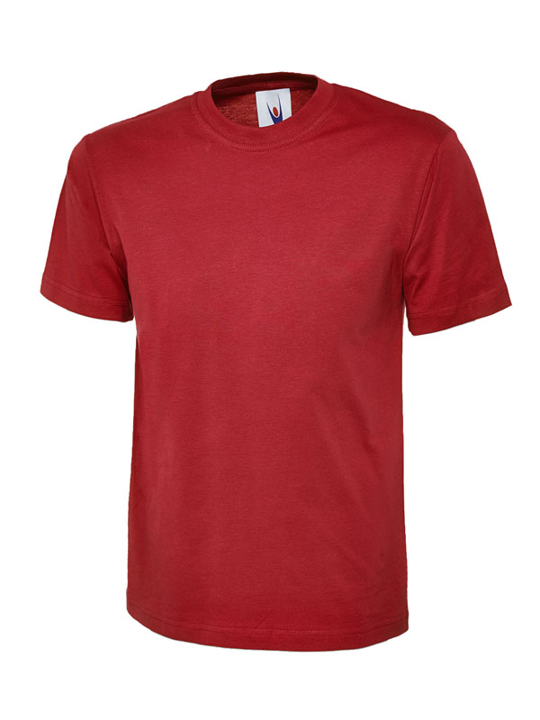 classic t shirt 180GSM UC301 red