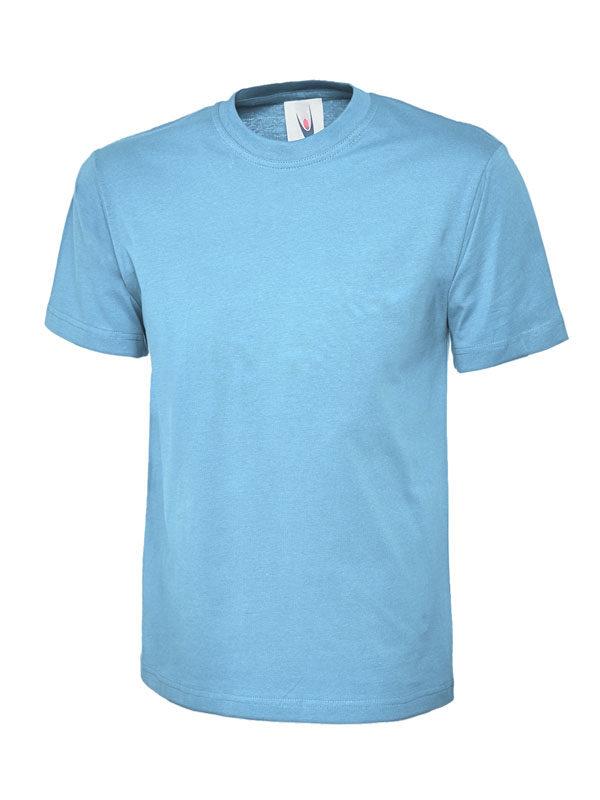 classic t shirt 180GSM UC301 sky