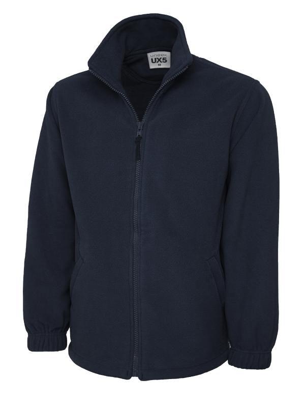 full zip fleece UX5 navy