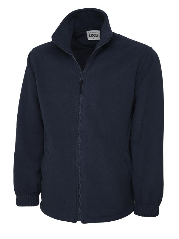 full zip fleece UX5 navy