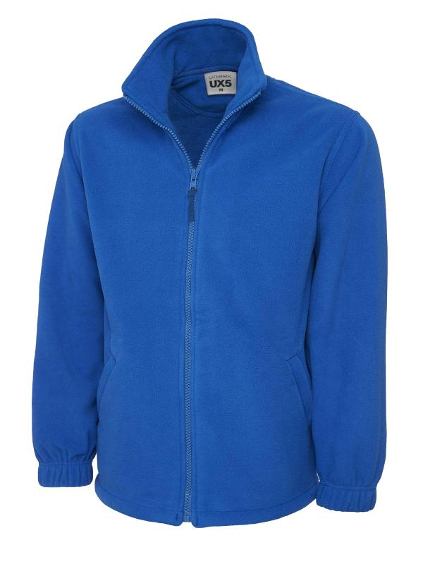 full zip fleece UX5 royal