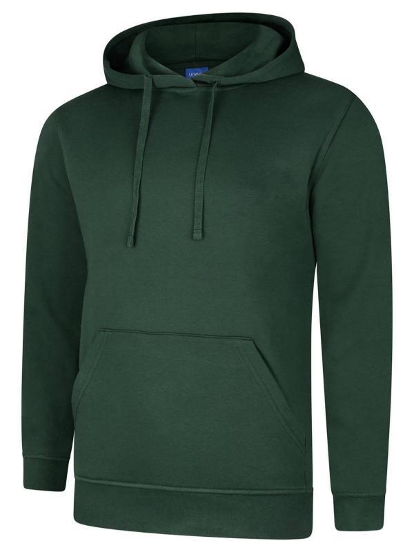 hooded sweatshirt UX4 bottle green