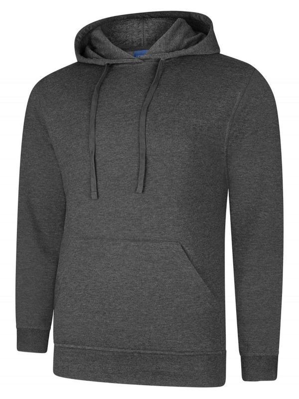 hooded sweatshirt UX4 charcoal
