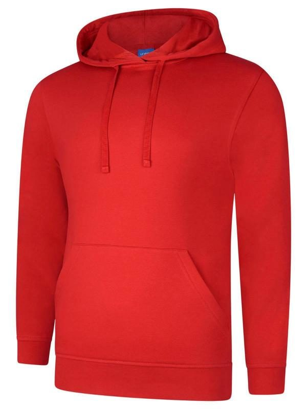 hooded sweatshirt UX4 red