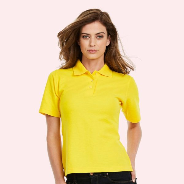 ladies pique polo shirt UC106
