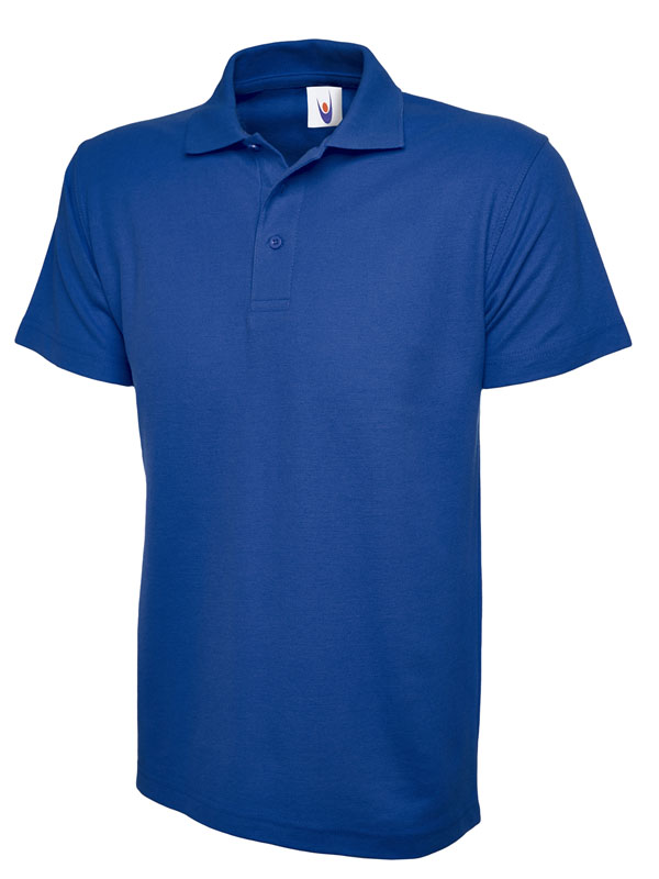 pique polo shirt UC101 royal