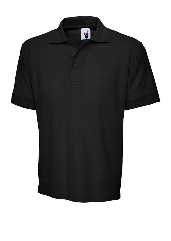 premium polo shirt UC102 black