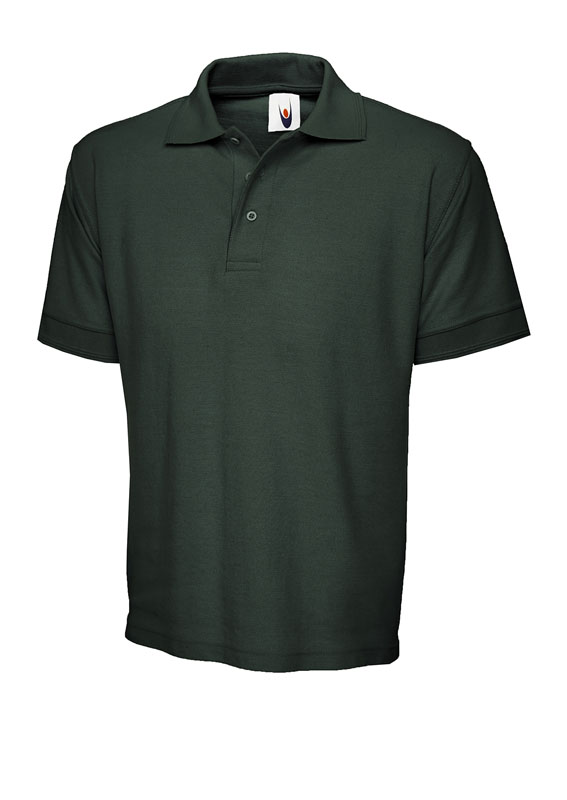 premium polo shirt UC102 bottle green