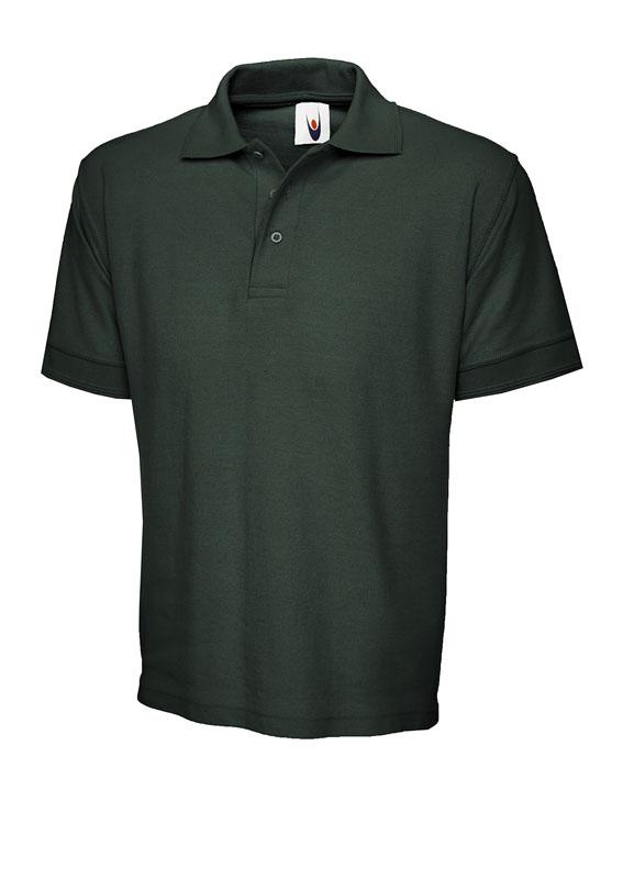 premium polo shirt UC102 bottle green