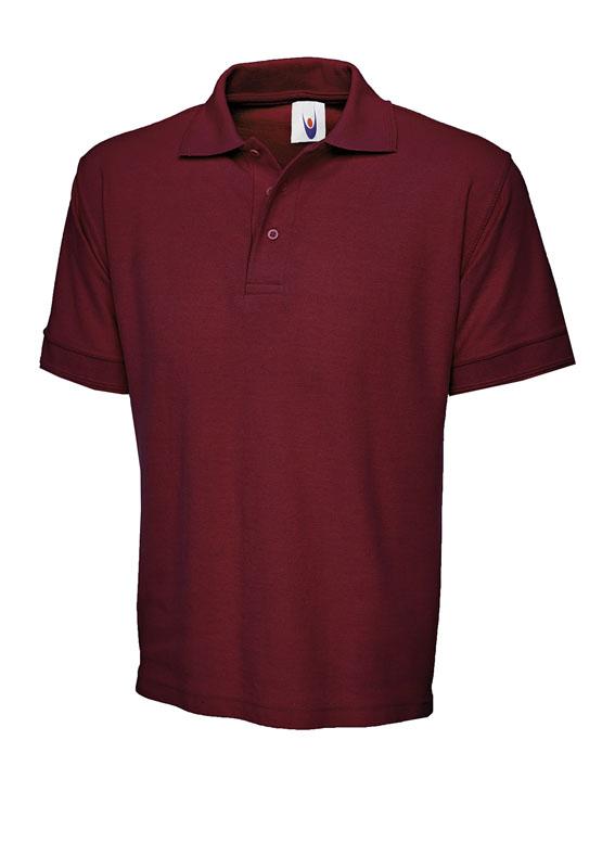 premium polo shirt UC102 maroon