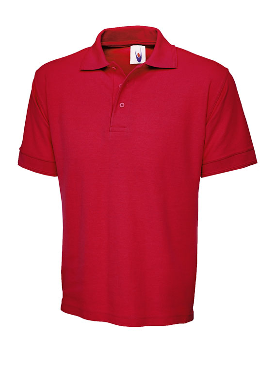 premium polo shirt UC102 red