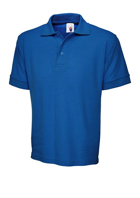 premium polo shirt UC102 royal