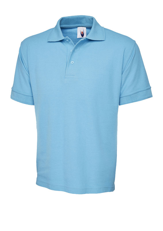 premium polo shirt UC102 sky