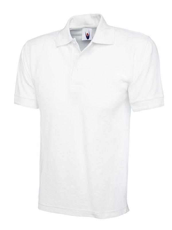 premium polo shirt UC102 white