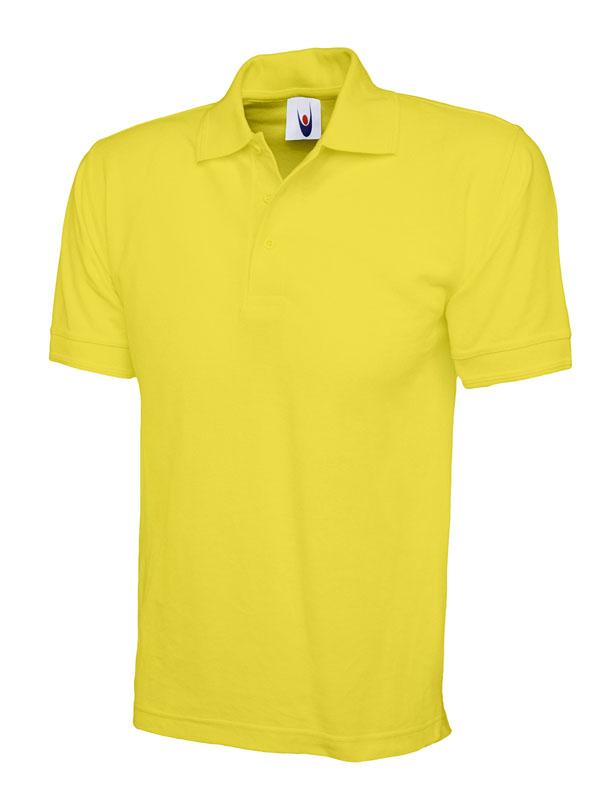 premium polo shirt UC102 yellow