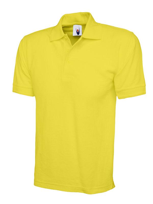 premium polo shirt UC102 yellow