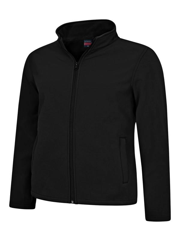 soft shell jacket UX6 black