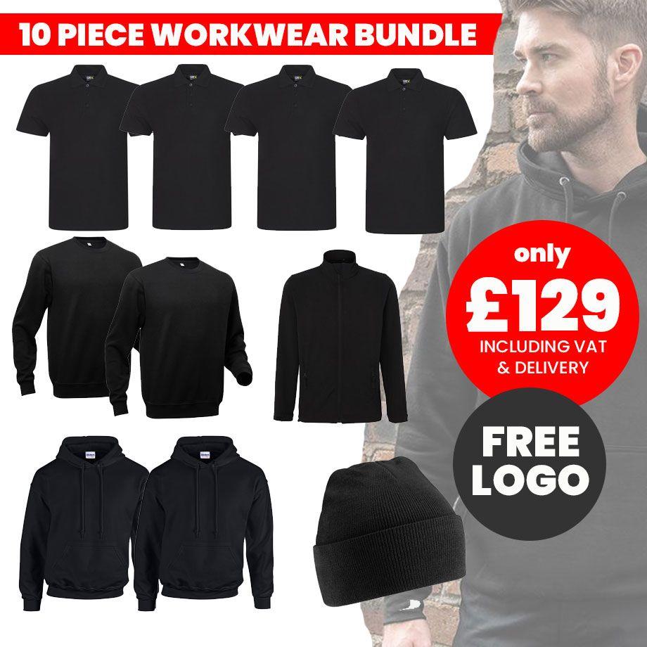 10 pc workwear bundle