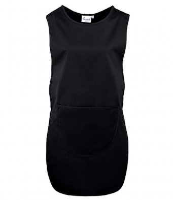 Long Length Tabard Pocket black