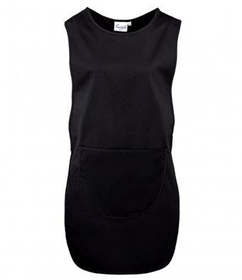 Long Length Tabard Pocket black