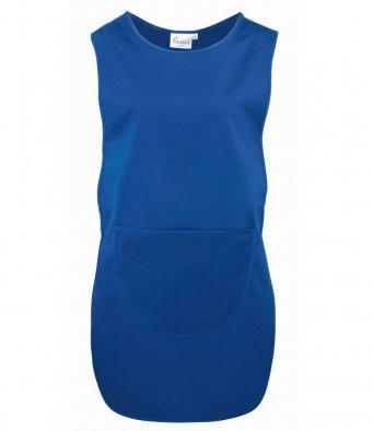 Long Length Tabard Pocket royal blue