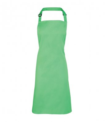 classic bib apron apple green