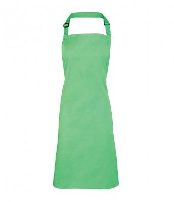 classic bib apron apple green