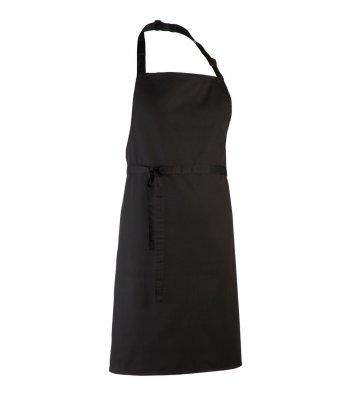classic bib apron black