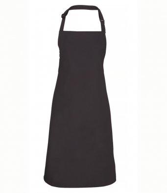classic bib apron charcoal