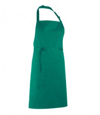 classic bib apron emerald
