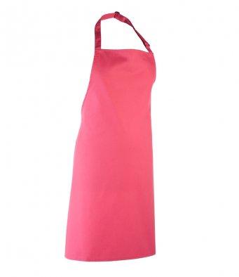 classic bib apron fuchsia