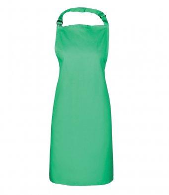 classic bib apron kelly green