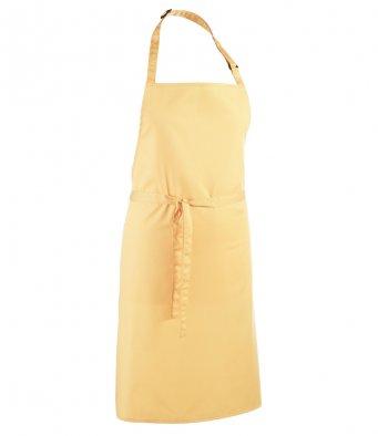 classic bib apron lemon