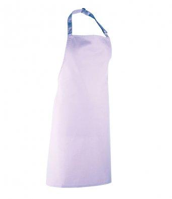 classic bib apron lilac